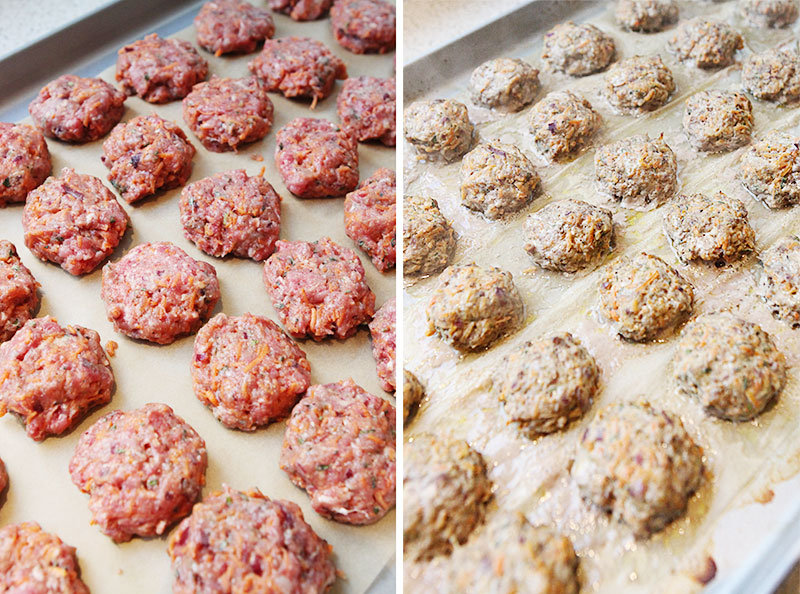 Fresh herb juniperberry meatballs 10