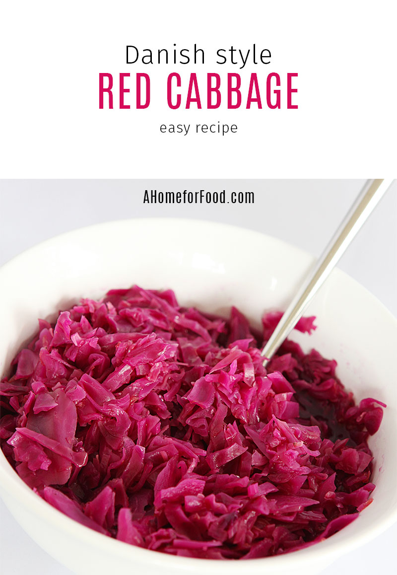Danish style red cabbage
