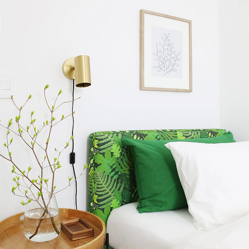 Green guest room make over 11 DIYs thumb
