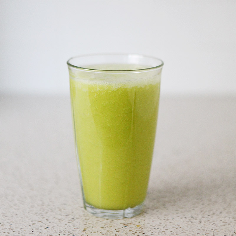 Yellow Juice With Turmeric