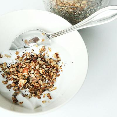 Crunchy granola without grains