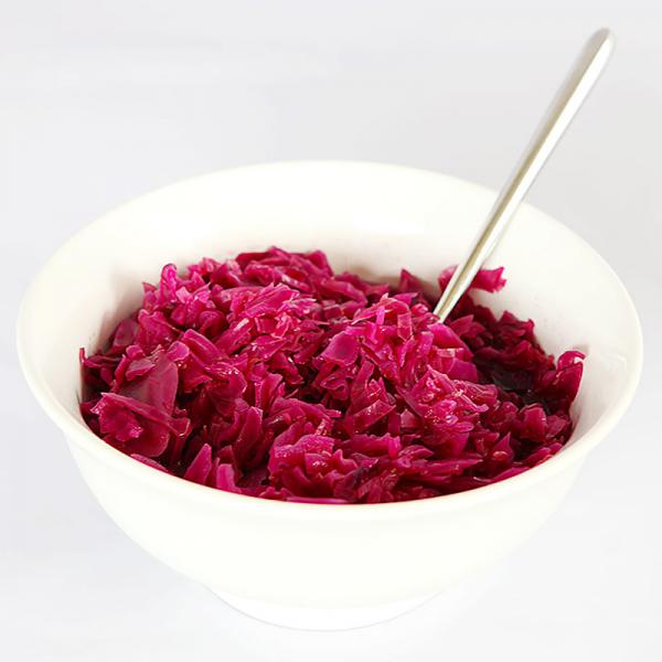 Danish style red cabbage - easy recipe